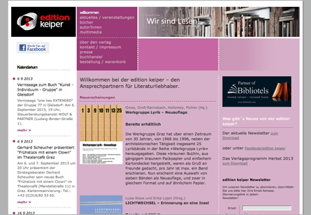 editionkeiper website